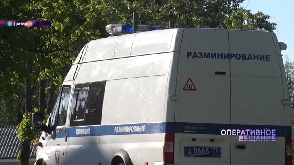 В Данилове нашли неразорвавшуюся гранату времен Великой Отечественной