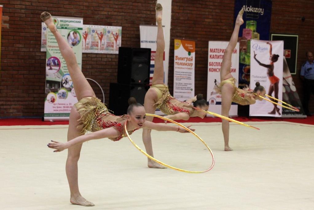 В Ярославле стартовал крупнейший международный турнир по художественной гимнастике