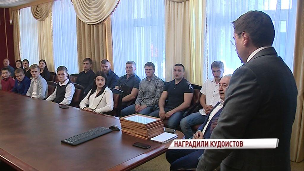 Ярославские кудоисты привезли пять медалей с Кубка России