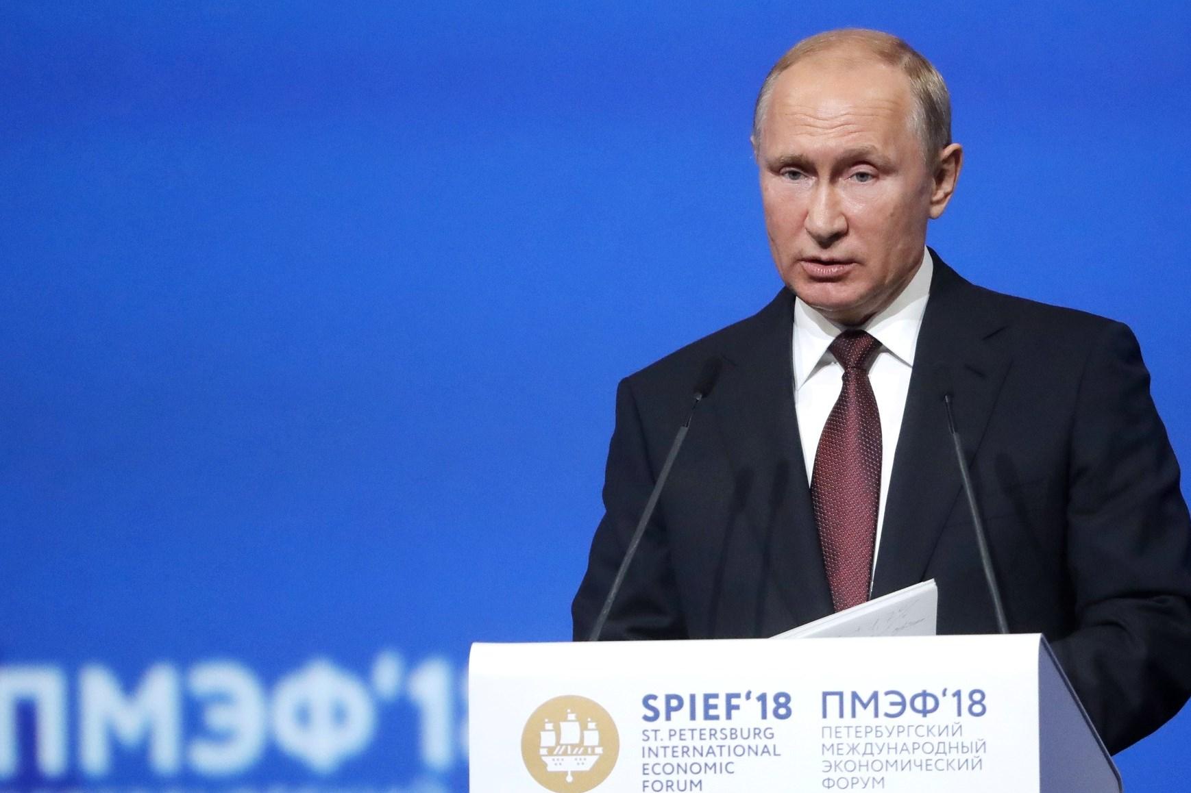 Владимир Путин отметил рост инвестиционной привлекательности региона