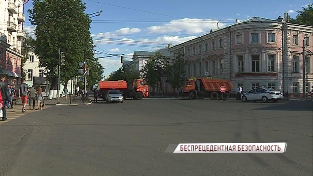 Когда вновь откроют движение в центре Ярославля?