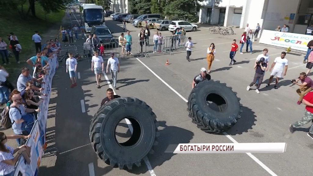 Десяток российских богатырей показали фантастические возможности человеческого тела
