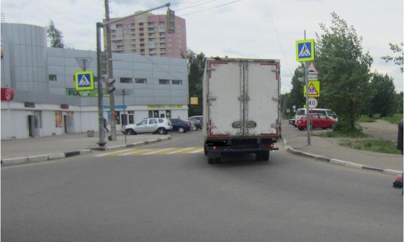В Ярославле «Газель» наехала на пешехода
