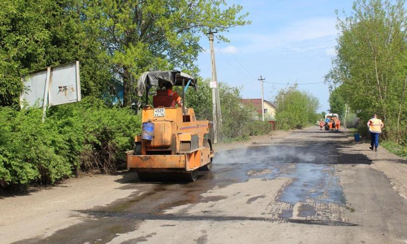 Дорогу Зяблицы – Тенино отремонтировали, но грузовики на нее не пустят