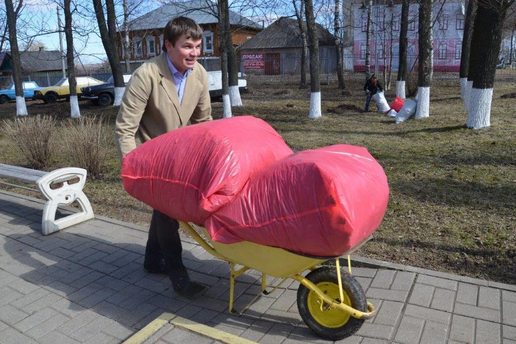 Жители Ярославской области вышли на субботник «Зеленая весна»