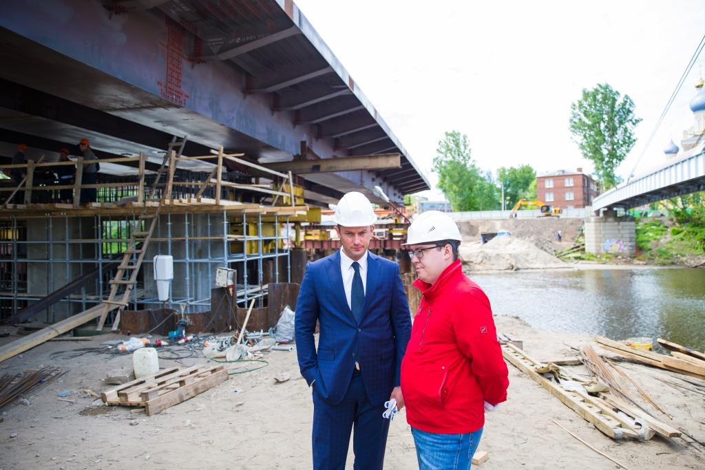 Депутат облдумы: На строящемся мосту через Которосль нарушений мы не увидели