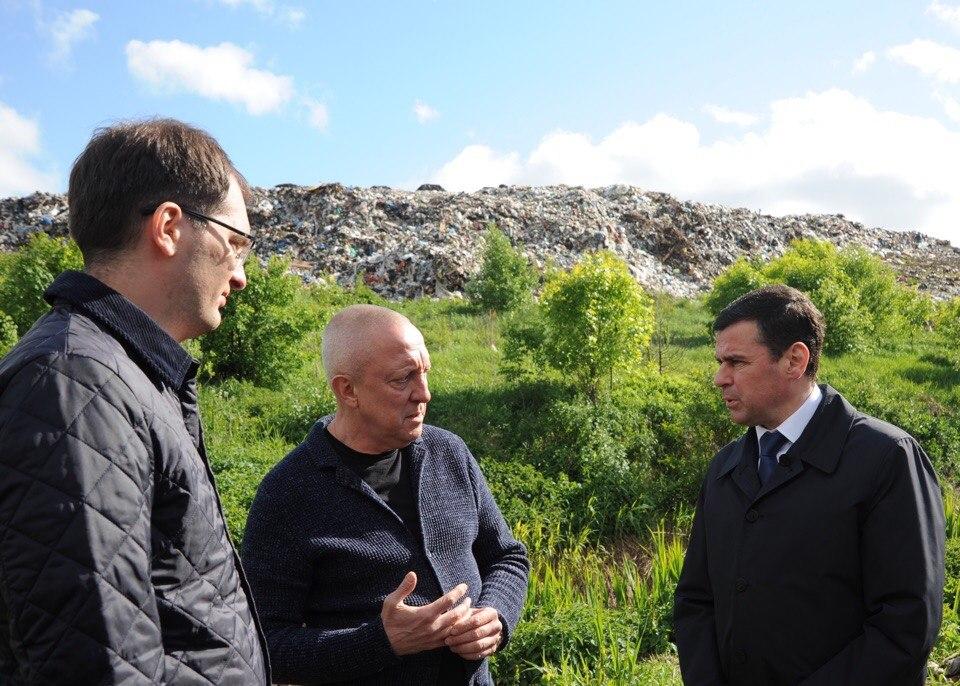 Губернатор внепланово посетил полигон «Скоково»: что его интересовало
