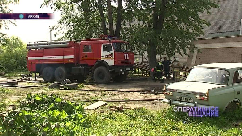 Крупный пожар в Нижнем поселке: что горит