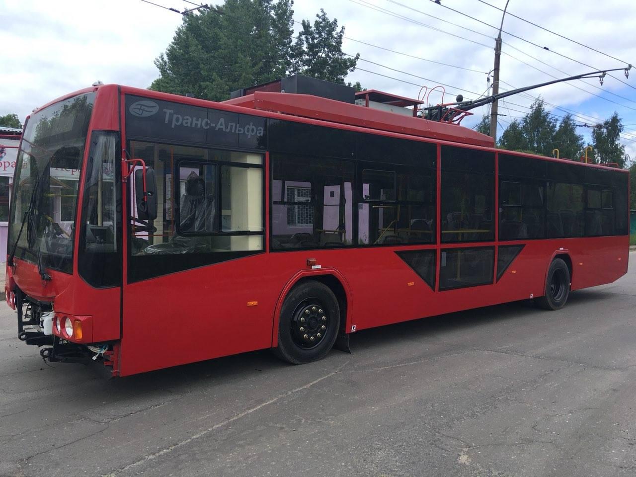 По Ярославлю будут ездить красные троллейбусы из Вологды