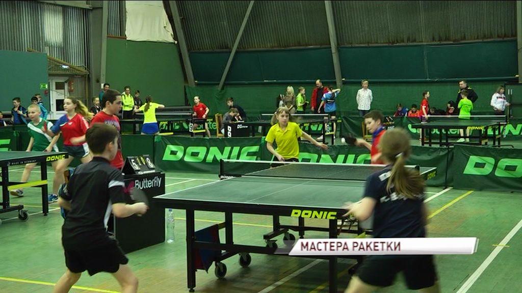 Ярославские спортсмены успешно выступили на турнире по настольному теннису