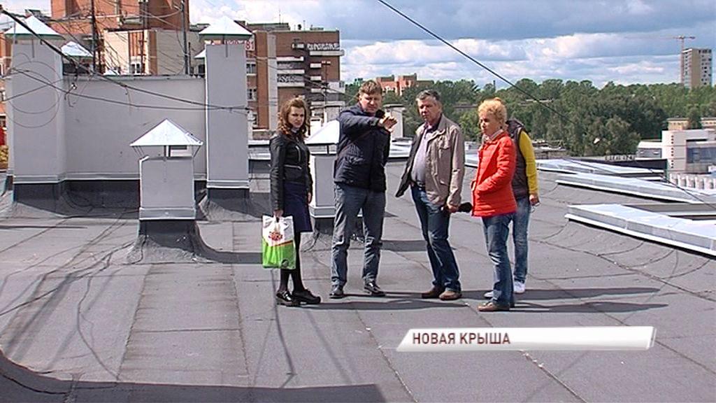 В одном из домов по Московскому проспекту впервые за 33 года капитально отремонтировали крышу