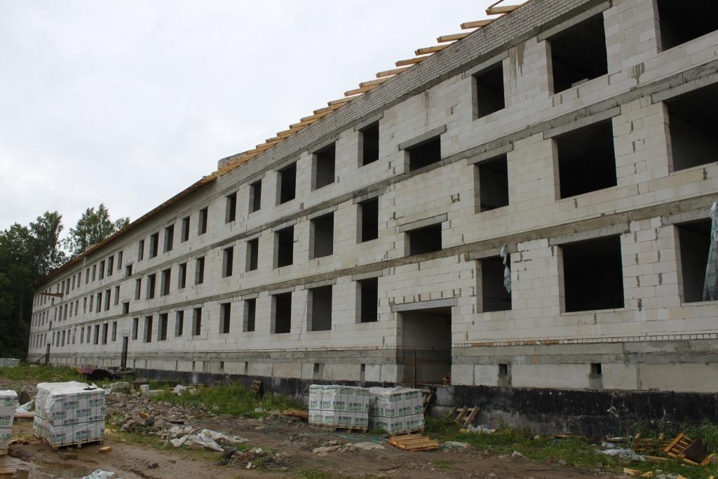 Проблемный дом в Кузнечихе сдадут раньше срока