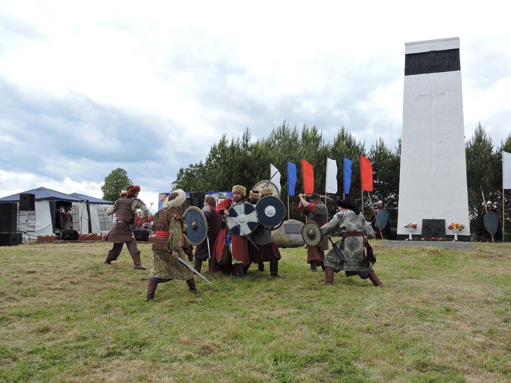 В Некоузском районе реконструировали битву на Сити в честь 780-летия события