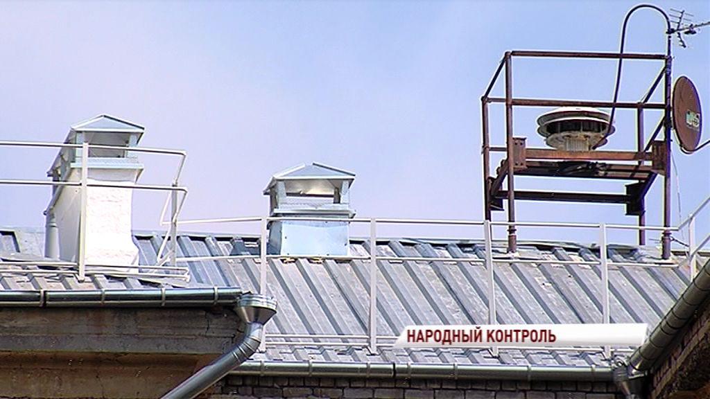 Капитальный ремонт крыши в доме на улице Маланова не продержался и года