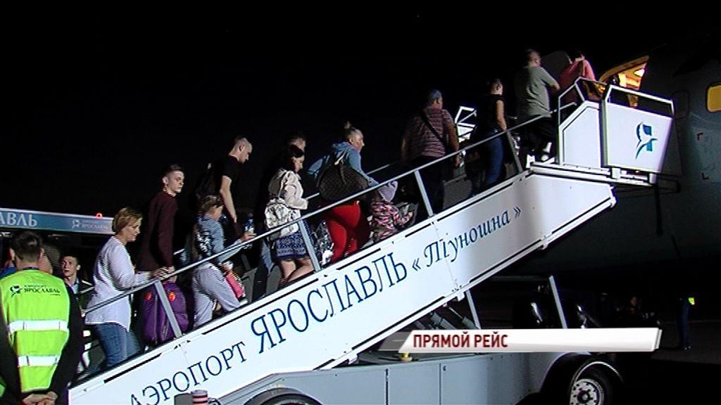 Ближе к югу: из Ярославля вновь летают самолеты в Симферополь