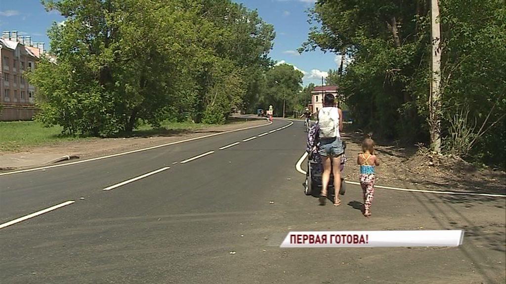 Комиссия приняла первую в этом году дорогу, отремонтированную в рамках федерального проекта