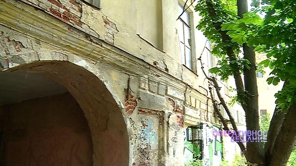 Памятник культурного наследия в Ярославле облюбовали бездомные