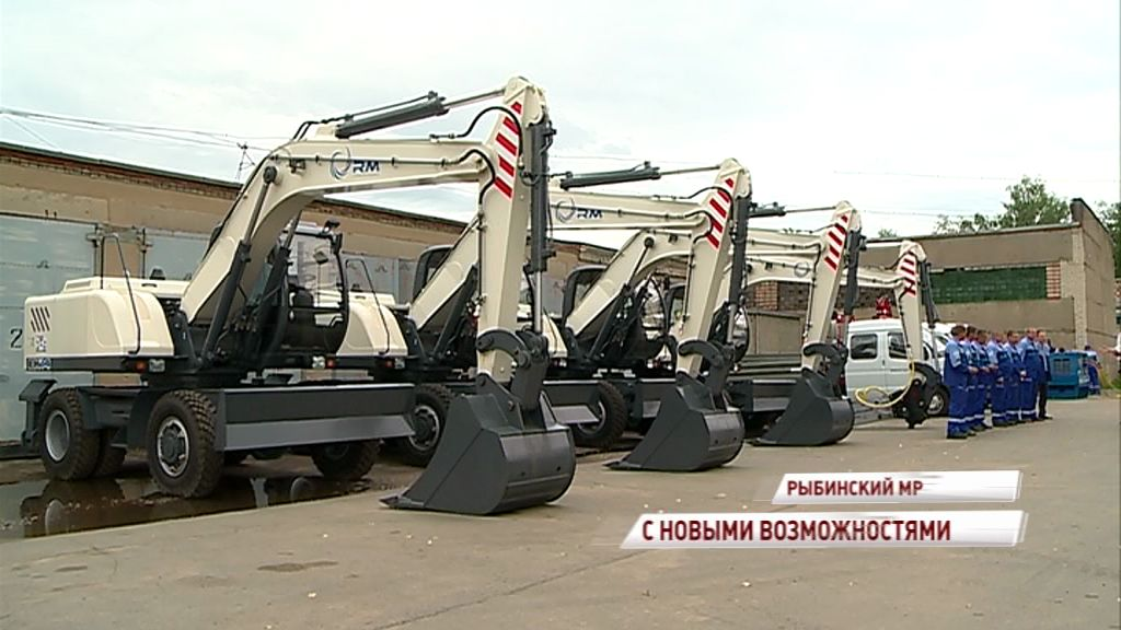 Северный водоканал в Рыбинске обновляет базу спецтехники: как это отразится на качестве обслуживания