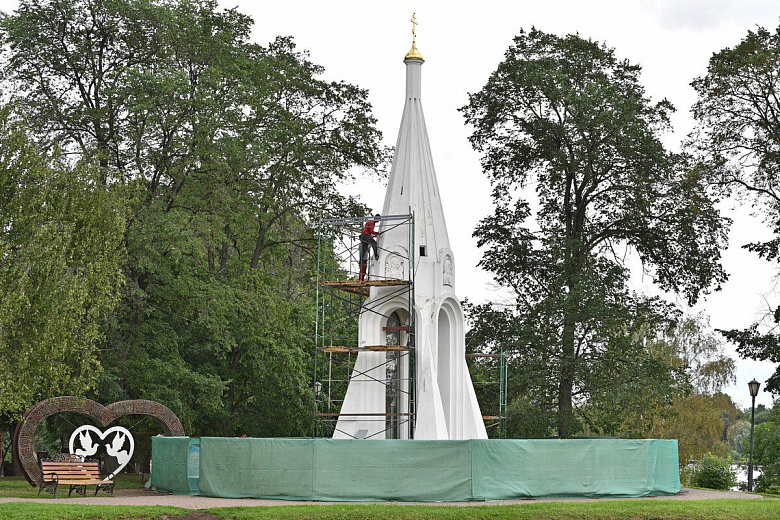 Ремонт часовни Казанской Богоматери завершат к концу лета