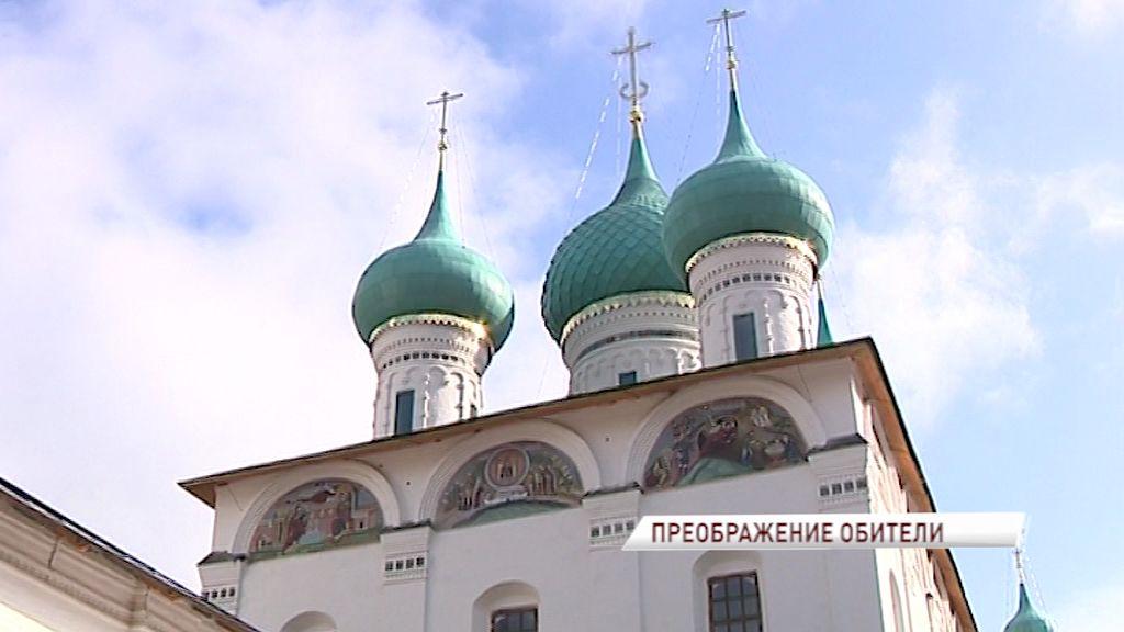 Преображение Толгского монастыря продолжается