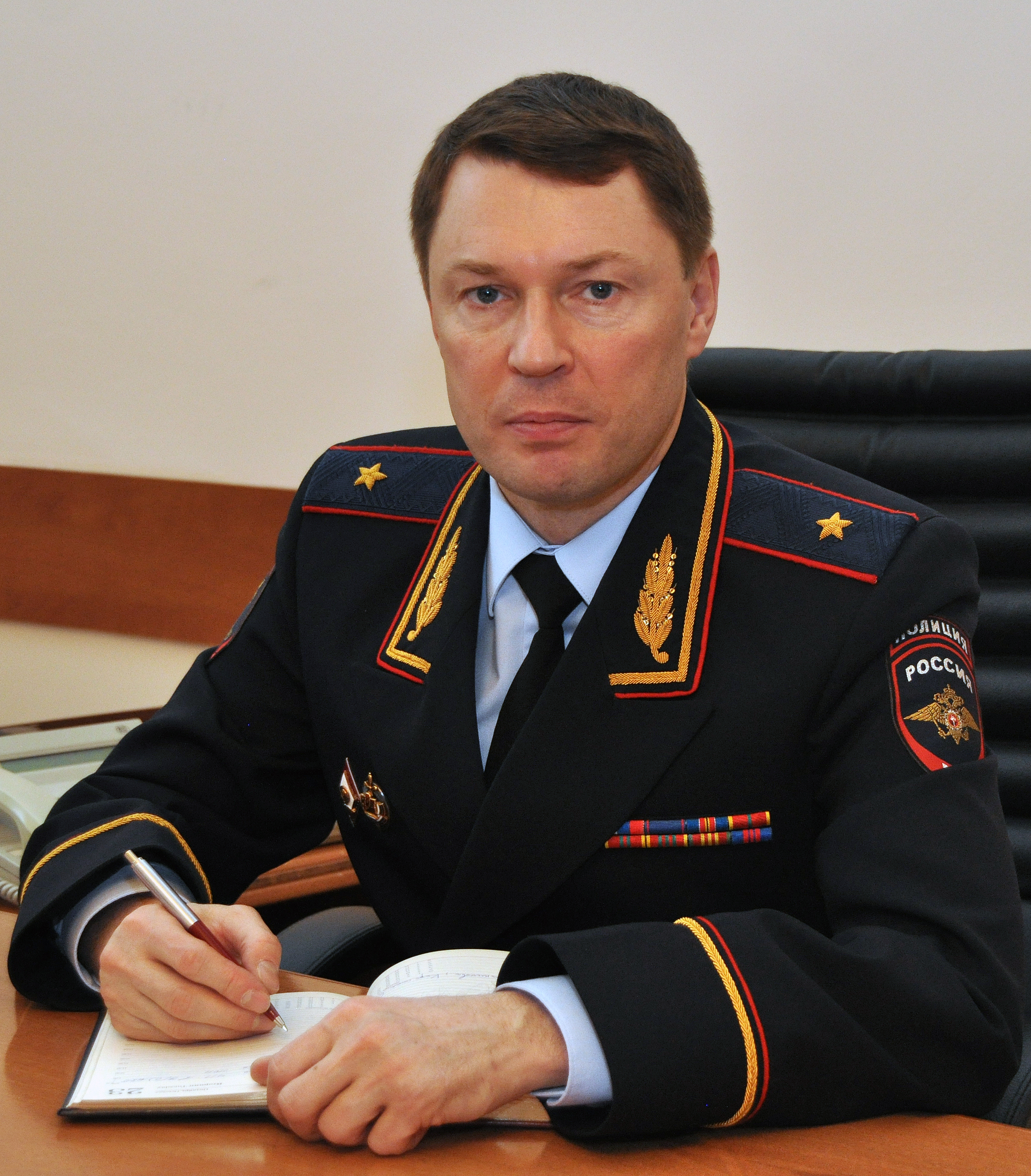 В Ярославской области теперь новый главный полицейский