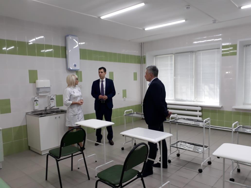 Поликлиника КБ №2 открылась после ремонта