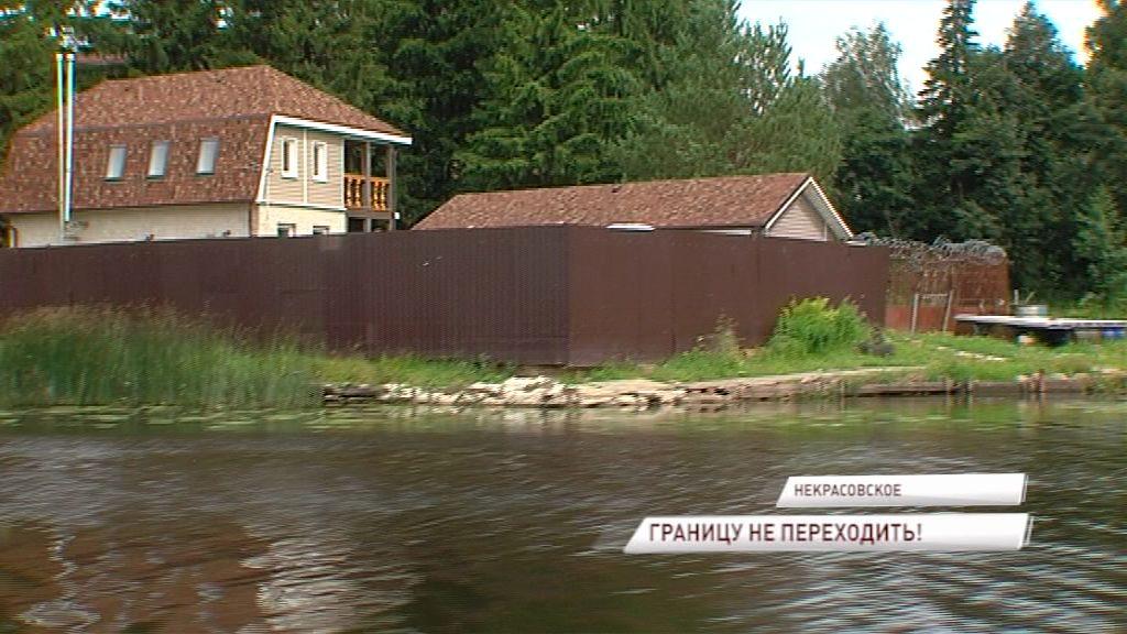 Владельцам построек вблизи реки Солоницы грозят штрафы