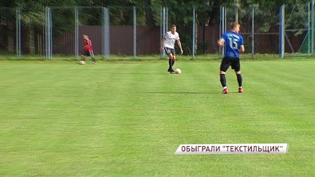 «Шинник» провел второй контрольный матч с ивановским «Текстильщиком»
