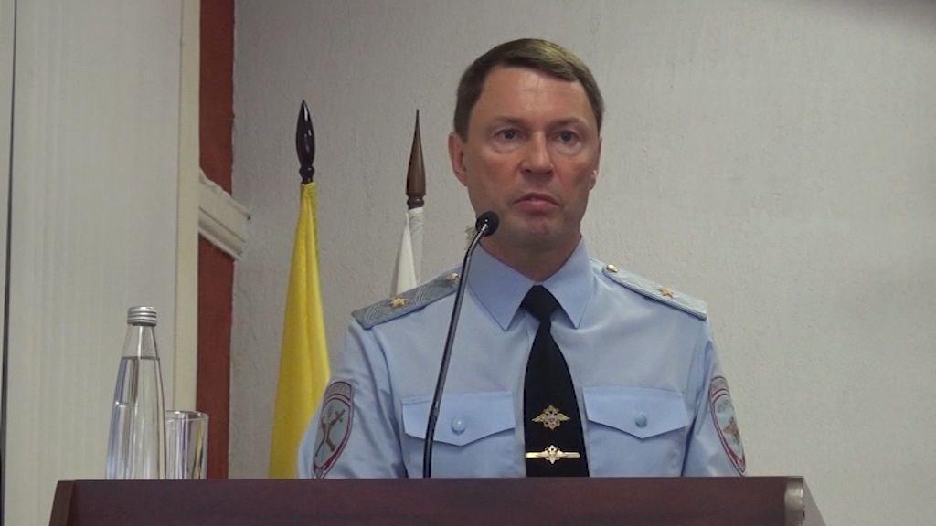 Нового главного полицейского области официально представили личному составу