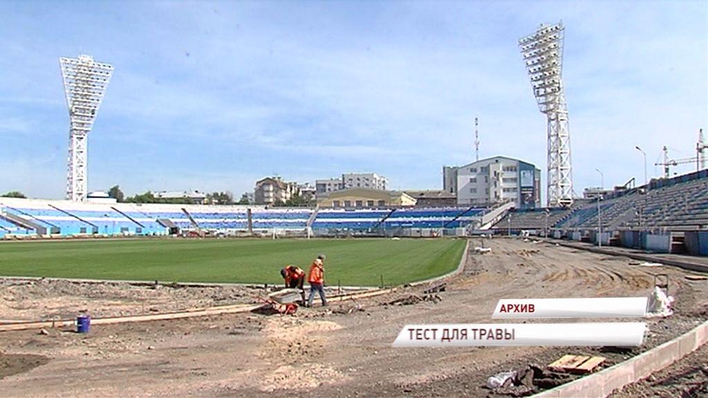Поле на стадионе «Шинник» пройдет тестирование