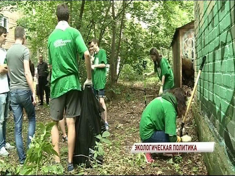 «Экодесант» продолжает работу по очистке города от мусора