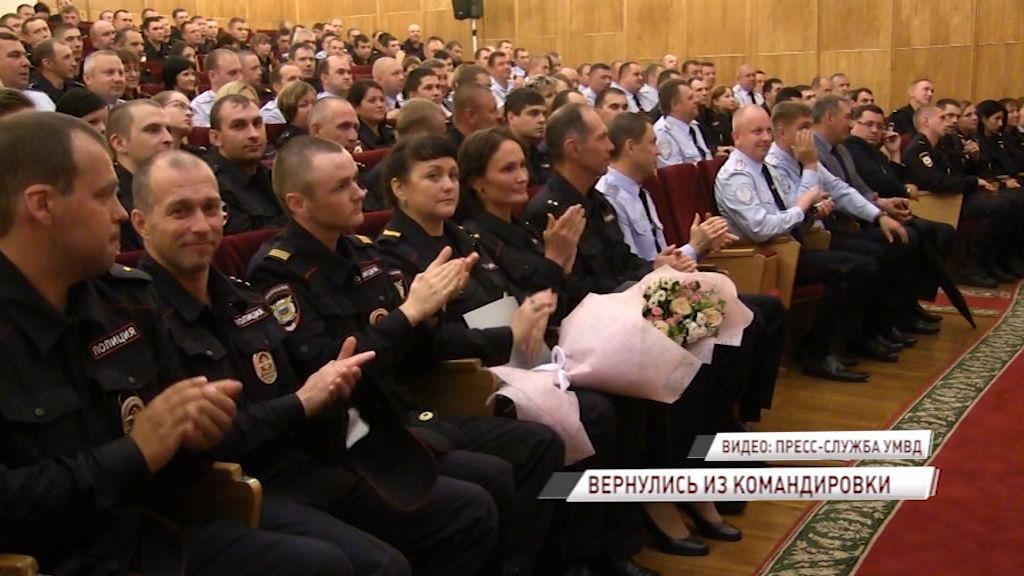 Полицейские, следившие за безопасностью на ЧМ-2018 в Нижнем Новгороде, вернулись в Ярославль