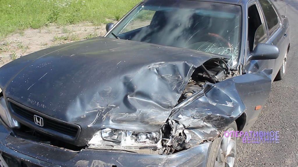 На Окружной дороге два водителя не поделили дорогу