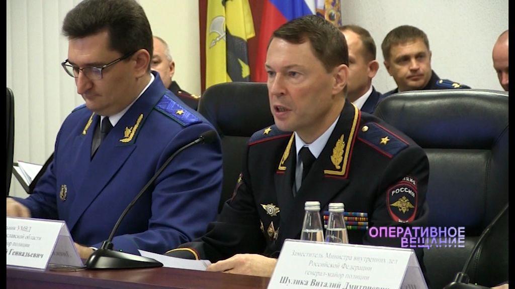Замминистра внутренних дел отметил снижение количества преступлений в области