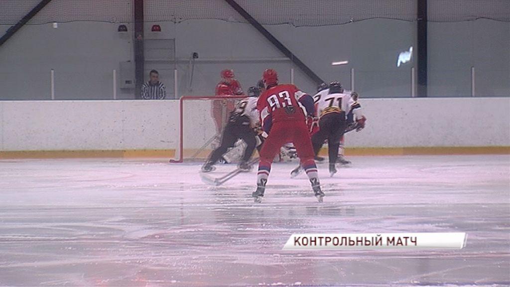 Ярославский «Локо» провел первый контрольный матч: итог игры