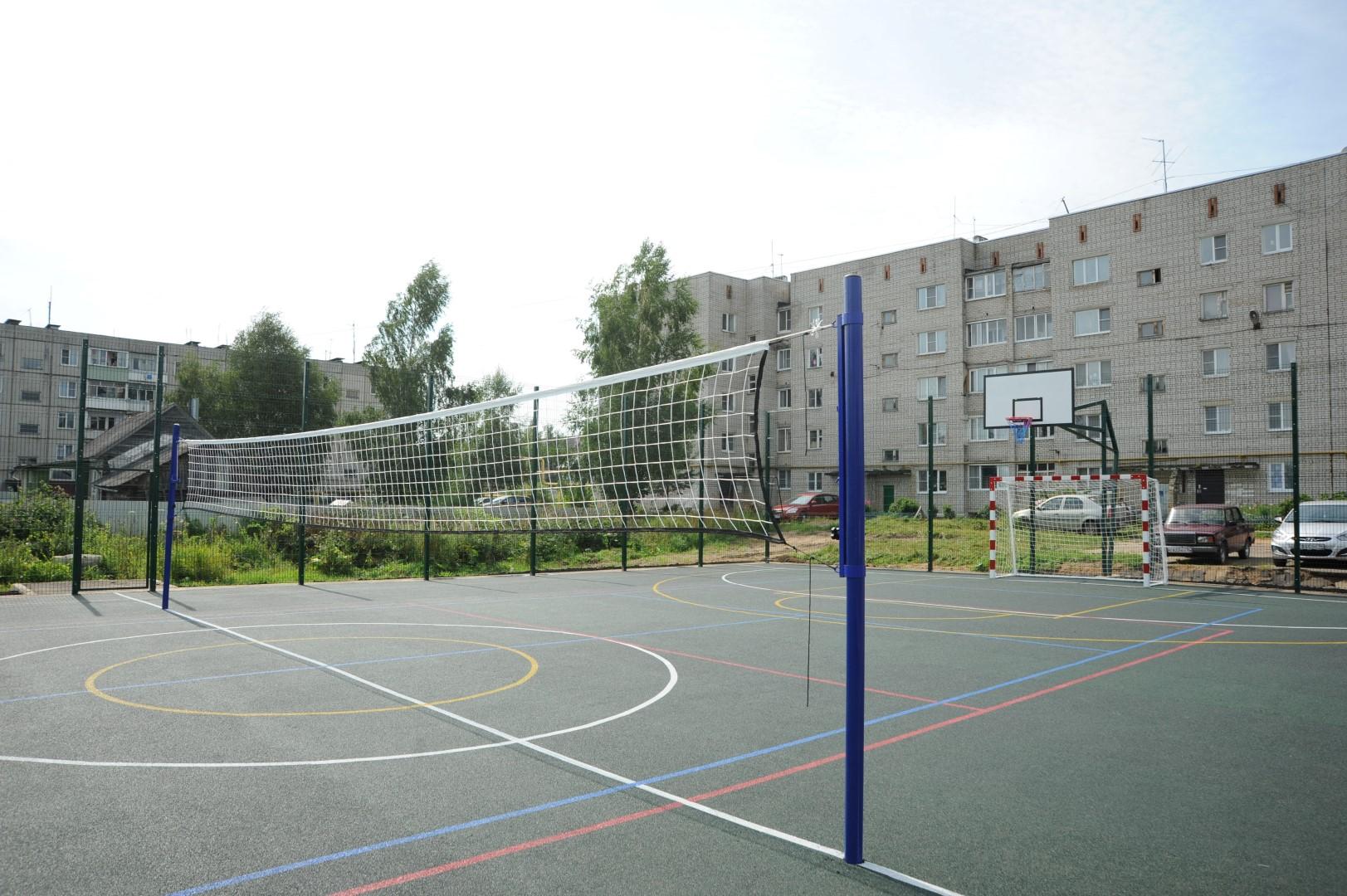 «Решаем вместе!» в действии: в Семибратово откроют новую спортплощадку