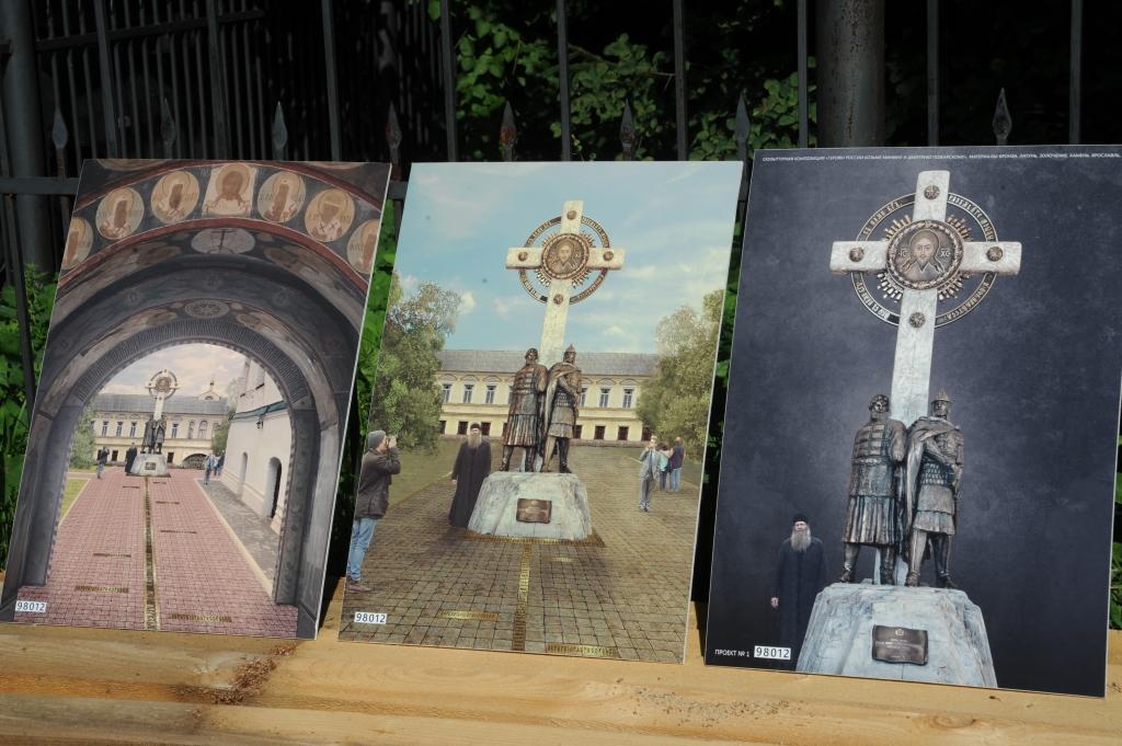 Памятник Минину и Пожарскому в Ярославле построят на пожертвования
