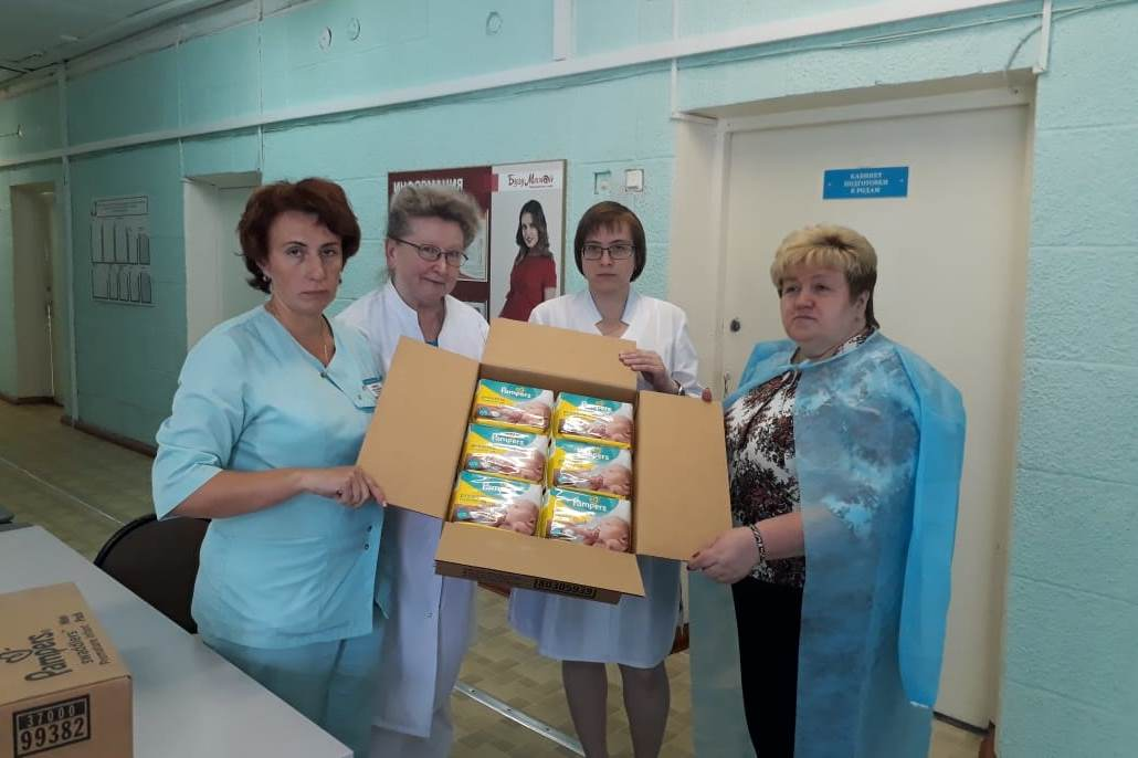 Пациентки родильного отделения будут получать в подарок от больницы подгузники