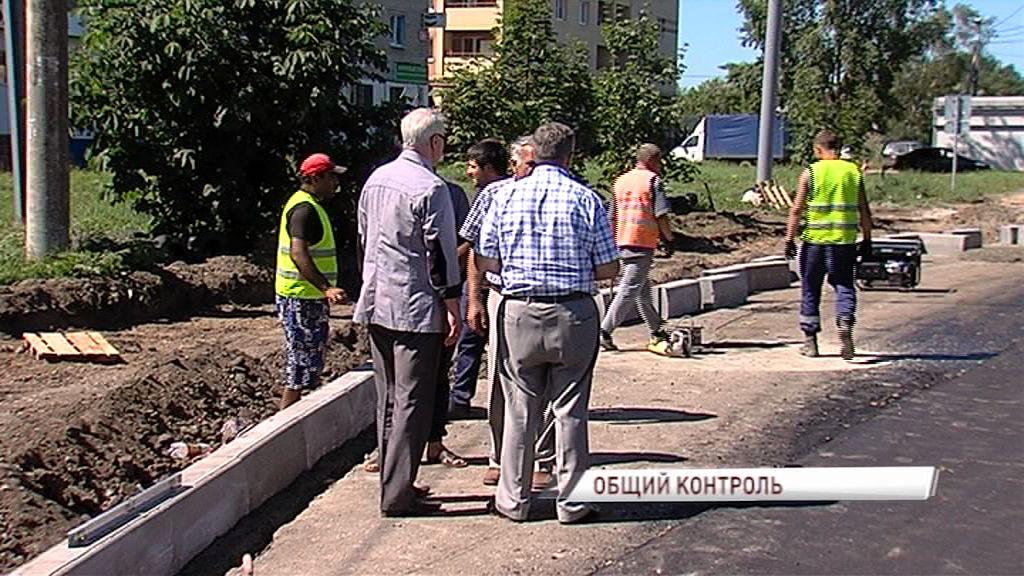 В Ярославле началась реконструкция улицы Большой Норской