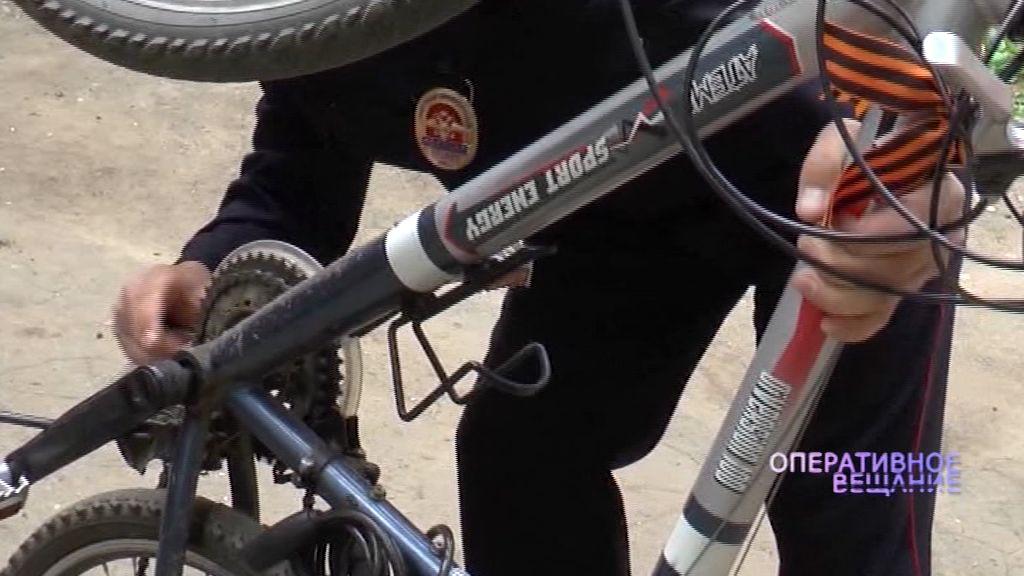 В Рыбинске веловора поймали с помощью камер