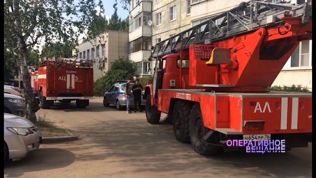 Ложный вызов о пожаре переполошил все спецслужбы города