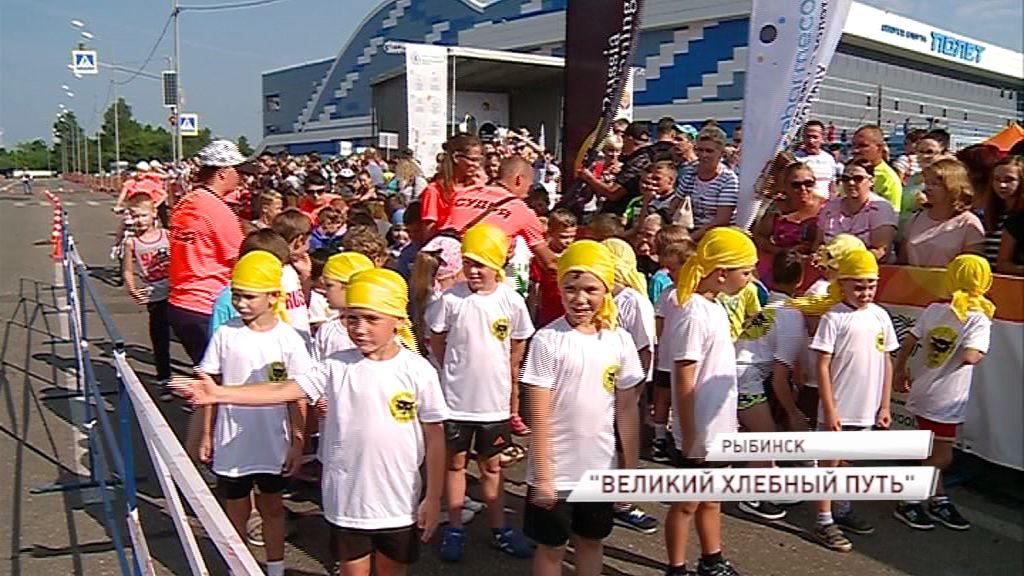 Более 2000 бегунов вышли на старт «Великого хлебного пути»