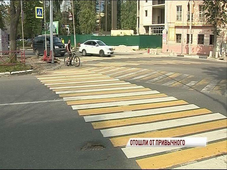 На перекрестке улиц Республиканская и Победы создают новые пешеходные переходы