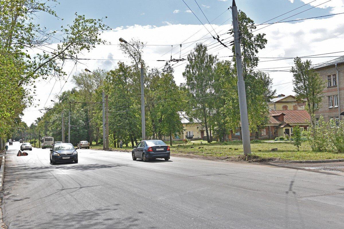 Ремонт дороги на Большой Норской закончат в ближайшее время