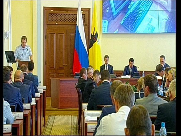 Заседание правительства Ярославской области от 8.08.12