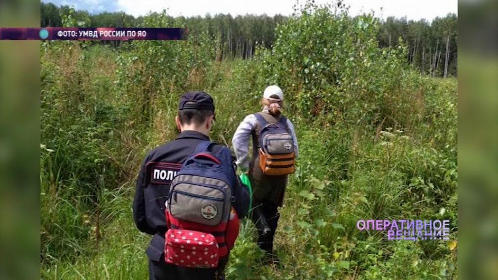 Борисоглебские полицейские помогли грибнику отыскать рюкзак