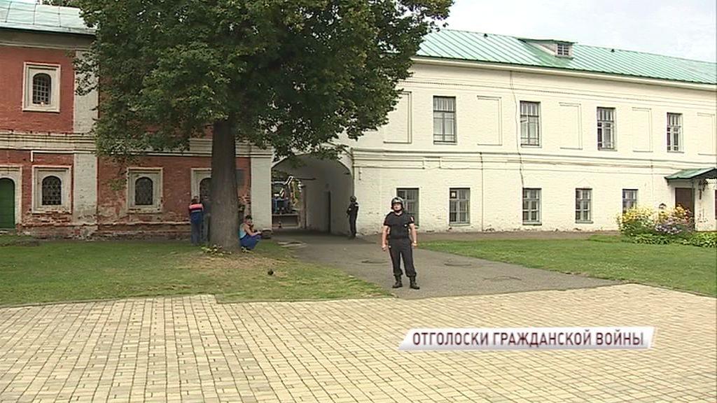 На территории музея-заповедника нашли боеприпас