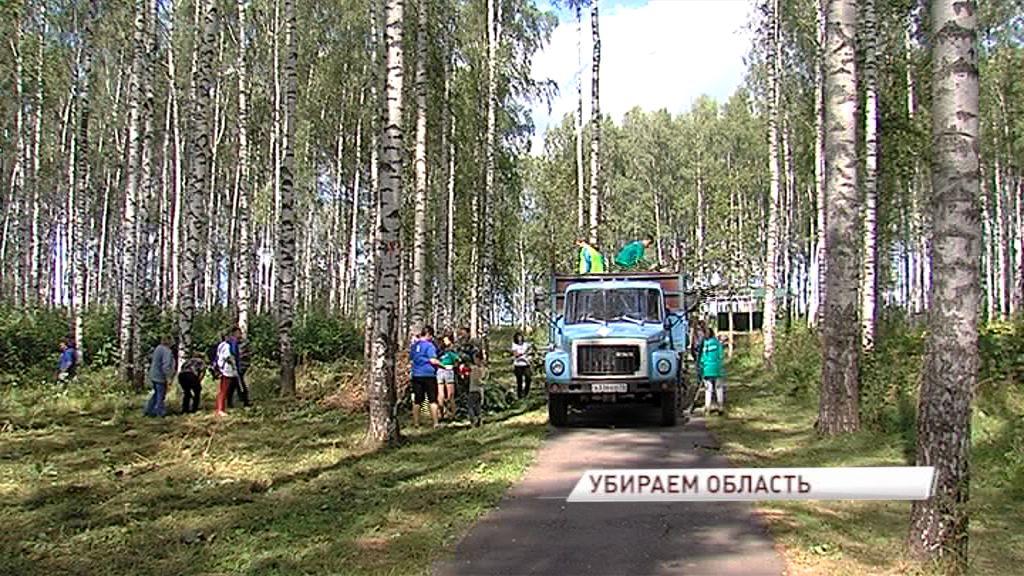 «Экодесант» очистил более 60 территорий в Ярославской области