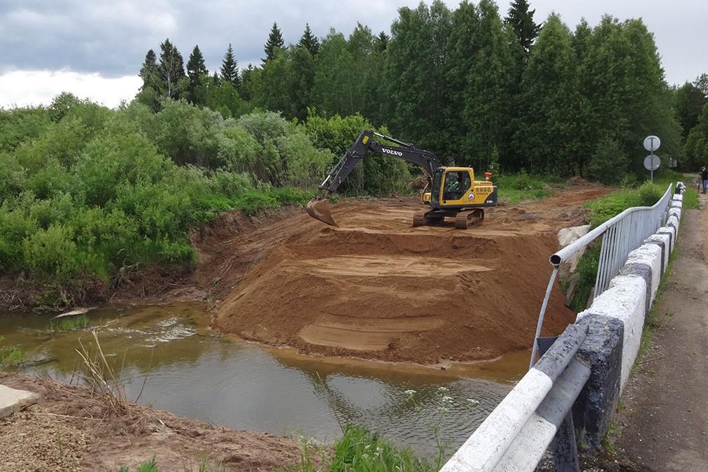В Даниловском районе возведут новый мост через реку Касть