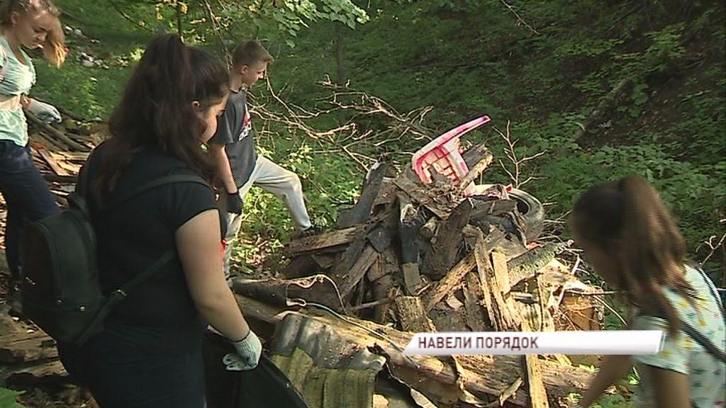 «Экодесант» убрал многолетнюю свалку в деревне Красное